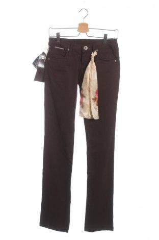 Γυναικείο παντελόνι Bandits Du Monde, Μέγεθος XS, Χρώμα Καφέ, 97% βαμβάκι, 3% ελαστάνη, Τιμή 14,15€