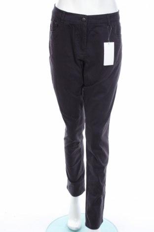 Dámské kalhoty  Jacqueline Riu, Rozměr L, Barva Modrá, 98% bavlna, 2% elastan, Cena  225,00Kč