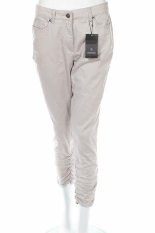 Дамски панталон Madeleine, Размер M, Цвят Сив, 98% памук, 2% еластан, Цена 29,90лв.