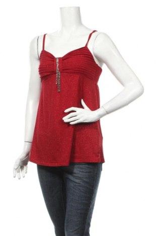 Дамски потник Clara Vitti, Размер M, Цвят Червен, 93% полиестер, 7% еластан, Цена 3,75лв.