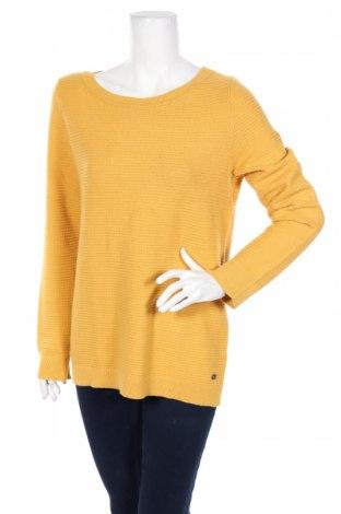 Дамски пуловер Esprit, Размер M, Цвят Жълт, 69% вискоза, 31% полиестер, Цена 59,00лв.