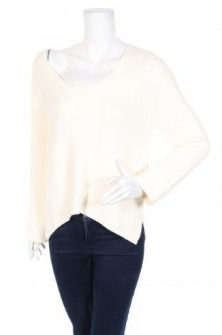 Дамски пуловер Mango, Размер M, Цвят Екрю, 52% вискоза, 28% полиестер, 20% полиамид, Цена 59,00лв.