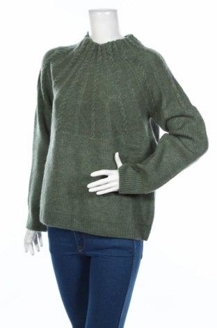 Дамски пуловер Mango, Размер L, Цвят Зелен, 74% акрил, 18% полиестер, 8% полиамид, Цена 59,00лв.