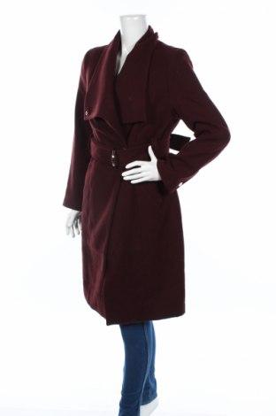 Damski płaszcz About You, Rozmiar M, Kolor Czerwony, 63% poliester, 30% wełna, 7% inny materiał, Cena 225,27zł