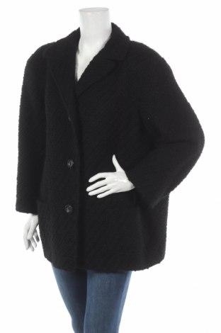 Dámský kabát  Jil Sander, Rozměr XL, Barva Černá, 95% vlna, 5% polyamide, Cena  3540,00Kč