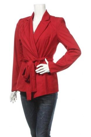 Dámské sako  4th Reckless, Rozměr L, Barva Červená, 70% polyester, 30% bavlna, Cena  241,00Kč
