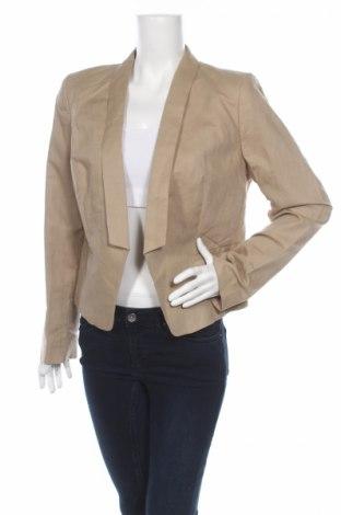 Dámske sako  Cameieu, Veľkosť XL, Farba Béžová, 55% ľan, 45% bavlna, Cena  12,99€