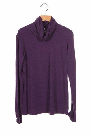 Детска блуза Armani Junior, Размер 14-15y/ 168-170 см, Цвят Лилав, Цена 22,20лв.