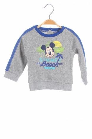 Bluză de copii Disney, Mărime 6-9m/ 68-74 cm, Culoare Gri, Poliester, Preț 39,05 Lei