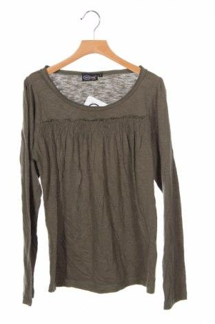 Детска блуза Inscene, Размер 12-13y/ 158-164 см, Цвят Зелен, Памук, Цена 4,25лв.