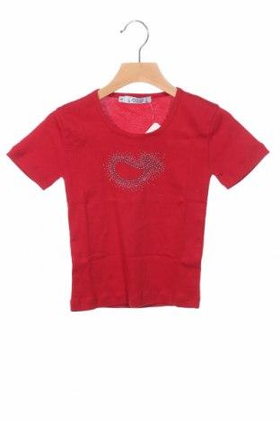 Детска блуза Le Phare De La Baleine, Размер 4-5y/ 110-116 см, Цвят Червен, Памук, Цена 8,40лв.