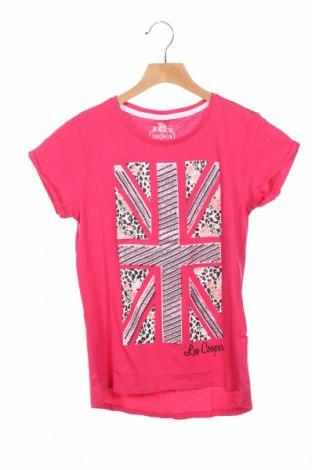 Детска блуза Lee Cooper, Размер 13-14y/ 164-168 см, Цвят Розов, Памук, Цена 10,20лв.