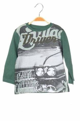 Детска блуза Losan, Размер 18-24m/ 86-98 см, Цвят Зелен, Цена 20,25лв.