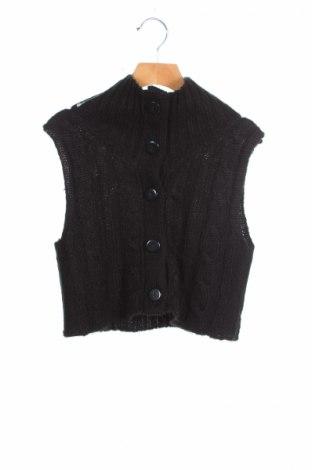 Детска жилетка Okay, Размер 13-14y/ 164-168 см, Цвят Черен, Акрил, Цена 8,50лв.