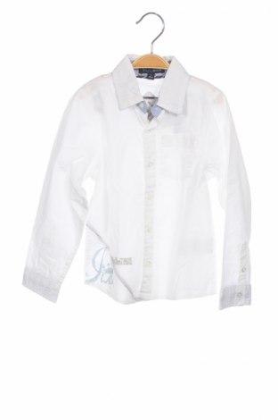 Παιδικό πουκάμισο Ycc, Μέγεθος 4-5y/ 110-116 εκ., Χρώμα Λευκό, Βαμβάκι, Τιμή 5,26€