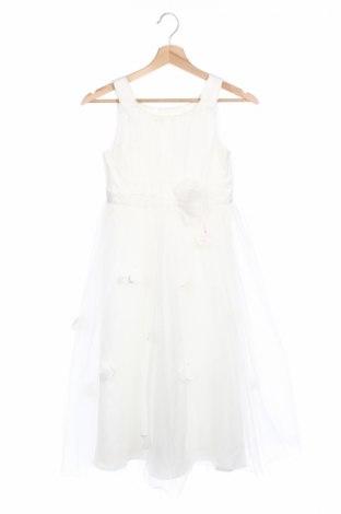 Детска рокля Chi Chi, Размер 7-8y/ 128-134 см, Цвят Бял, Полиамид, Цена 22,25лв.