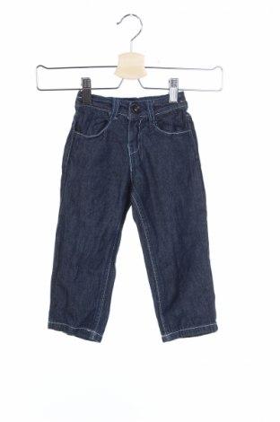 Детски дънки, Размер 12-18m/ 80-86 см, Цвят Син, Памук, Цена 4,50лв.