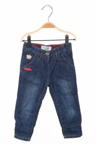 Dziecięce jeansy La Compagnie des Petits, Rozmiar 12-18m/ 80-86 cm, Kolor Niebieski, Bawełna, Cena 28,00zł