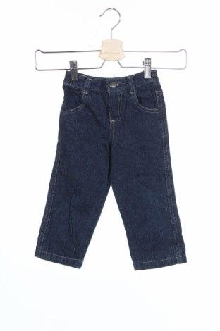 Детски дънки Nannette, Размер 18-24m/ 86-98 см, Цвят Син, Памук, Цена 4,75лв.
