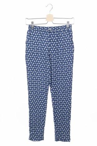 Pantaloni de copii Okaidi, Mărime 12-13y/ 158-164 cm, Culoare Albastru, Viscoză, Preț 38,69 Lei