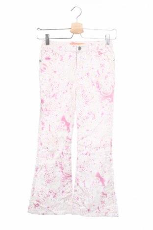 Детски панталон One By One, Размер 8-9y/ 134-140 см, Цвят Многоцветен, 97% памук, 3% еластан, Цена 5,50лв.