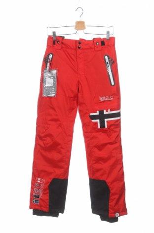 Detské nohavice pre zimné športy  Geographical Norway, Veľkosť 13-14y/ 164-168 cm, Farba Červená, Polyester, Cena  71,65€