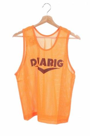Μπλουζάκι αμάνικο παιδικό, Μέγεθος 14-15y/ 168-170 εκ., Χρώμα Πορτοκαλί, Πολυεστέρας, Τιμή 1,03€