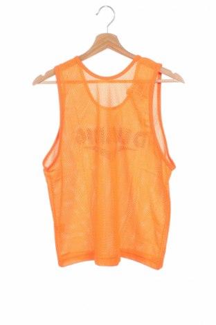 Μπλουζάκι αμάνικο παιδικό, Μέγεθος 14-15y/ 168-170 εκ., Χρώμα Πορτοκαλί, Πολυεστέρας, Τιμή 8,51€