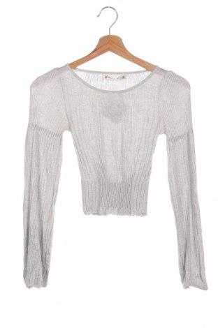 Detský sveter , Veľkosť 7-8y/ 128-134 cm, Farba Sivá, Bavlna, polyester, Cena  10,21€