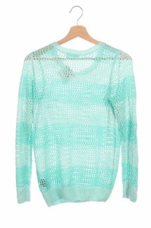 Detský sveter  H&M, Veľkosť 15-18y/ 170-176 cm, Farba Zelená, Akryl, Cena  4,99€