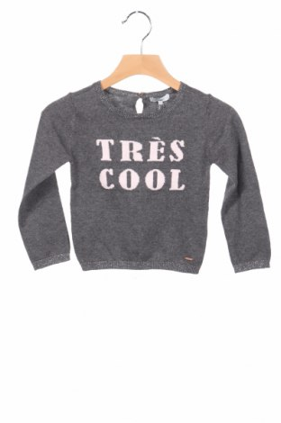 Detský sveter  Noppies, Veľkosť 18-24m/ 86-98 cm, Farba Sivá, 97% bavlna, 3% vlákna , Cena  9,59€