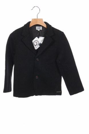 Детско сако La Compagnie des Petits, Размер 5-6y/ 116-122 см, Цвят Черен, 54% полиестер, 46% вълна, Цена 17,48лв.