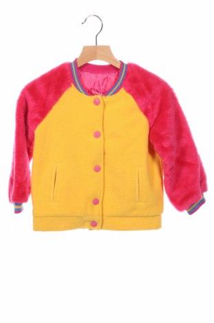 Детско яке Agatha Ruiz De La Prada, Размер 4-5y/ 110-116 см, Цвят Многоцветен, 60% акрил, 40% вискоза, Цена 57,96лв.