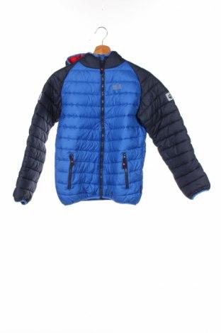 Dětská bunda  Jack Wolfskin, Rozměr 12-13y/ 158-164 cm, Barva Modrá, Polyester, Cena  1690,00Kč