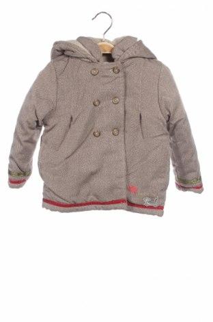 Детско яке La Compagnie des Petits, Размер 2-3y/ 98-104 см, Цвят Бежов, 66% полиестер, 34% полиамид, Цена 57,85лв.
