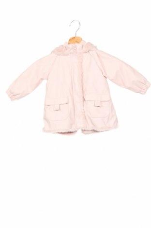Детско яке Zara, Размер 18-24m/ 86-98 см, Цвят Розов, Полиуретан, Цена 56,00лв.