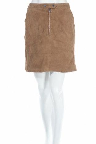 Δερμάτινη φούστα Vero Moda