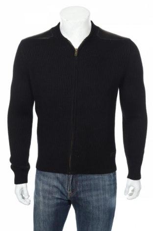 Мъжка жилетка Chevignon, Размер S, Цвят Черен, 80% памук, 20% вълна, Цена 89,00лв.