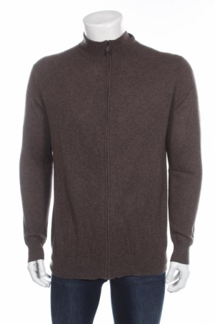 Мъжка жилетка Perfect Cashmere, Размер L, Цвят Кафяв, 100% кашмир, Цена 169,00лв.