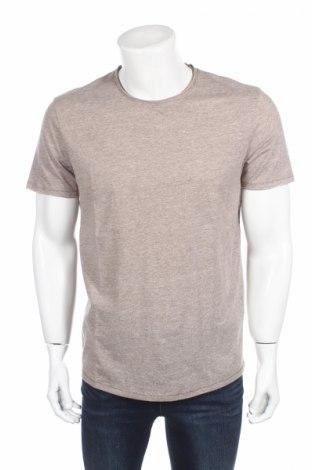 Tricou de bărbați Selected Homme, Mărime L, Culoare Bej, 60% bumbac, 40% poliester, Preț 34,00 Lei