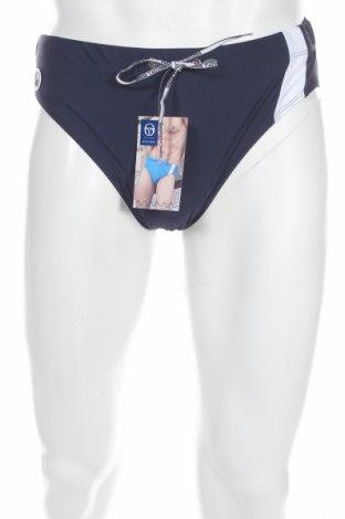 Мъжки бански Sergio Tacchini, Размер L, Цвят Син, 80% полиамид, 20% еластан, Цена 28,50лв.