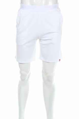 Pantaloni scurți de bărbați Redskins, Mărime M, Culoare Alb, 95% bumbac, 5% elastan, Preț 30,00 Lei