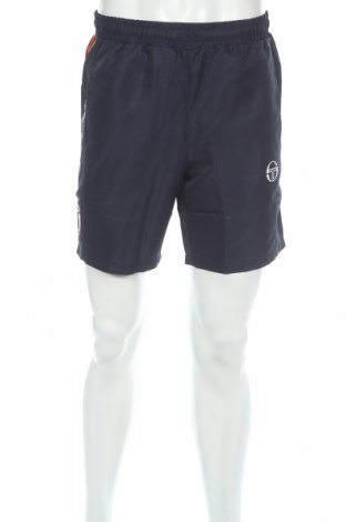 Ανδρικό κοντό παντελόνι Sergio Tacchini, Μέγεθος M, Χρώμα Μπλέ, Πολυεστέρας, Τιμή 6,40€