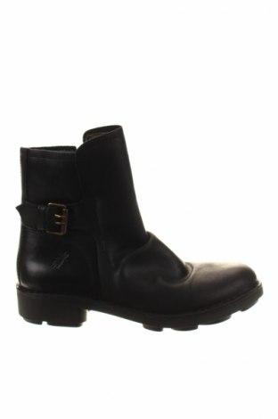 Ανδρικά παπούτσια Fly London, Μέγεθος 41, Χρώμα Μαύρο, Γνήσιο δέρμα, Τιμή 77,94€