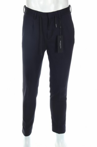 Pánske nohavice  Selected Homme, Veľkosť S, Farba Modrá, 68% polyester, 30% viskóza, 2% elastan, Cena  11,13€