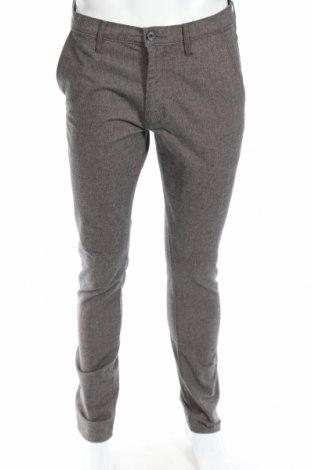 Ανδρικό παντελόνι Wrangler, Μέγεθος M, Χρώμα Γκρί, 82% βαμβάκι, 17% μαλλί, 1% ελαστάνη, Τιμή 12,22€