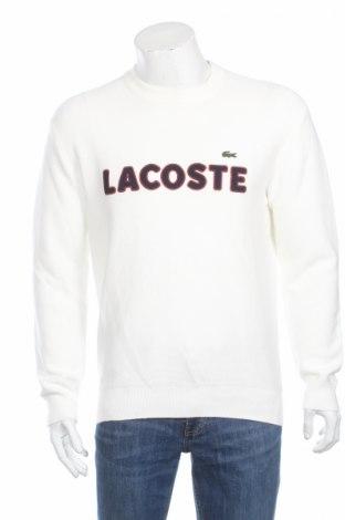 Pánsky sveter  Lacoste, Veľkosť S, Farba Biela, Bavlna, Cena  32,58€