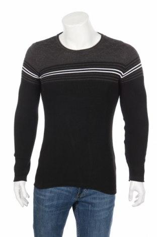 Ανδρικό πουλόβερ RNT23 Jeans, Μέγεθος M, Χρώμα Μαύρο, 50%ακρυλικό, 50% βαμβάκι, Τιμή 59,79€