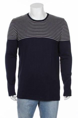 Pánsky sveter  RNT23 Jeans, Veľkosť XL, Farba Modrá, 50% bavlna, 50%acryl , Cena  59,79€