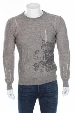 Ανδρικό πουλόβερ Urban Behavior, Μέγεθος M, Χρώμα Γκρί, 50%ακρυλικό, 50% μαλλί, Τιμή 19,18€
